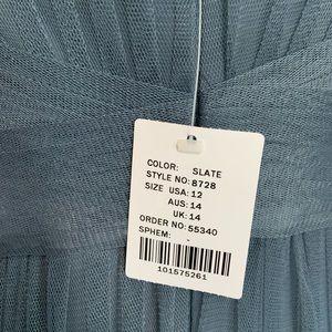 SORELLA VITA Dresses - Sorella Vita 8728 slate size 12